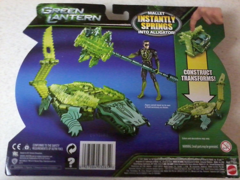 Green Lantern Battle Shifters Galactic Gator Mattel Free Shipping