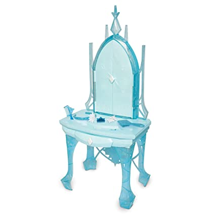 Sensational Disney Frozen 2 Elsas Enchanted Ice Vanity Includes Lights Iconic Story Moments Plays Vuelie And Into The Unknown For Ages 3 Caraccident5 Cool Chair Designs And Ideas Caraccident5Info