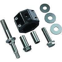 TeraFlex 1123160 Steering Stabilizer Relocation Bracket Kit (JK (for HD 42mm Tie Rod))