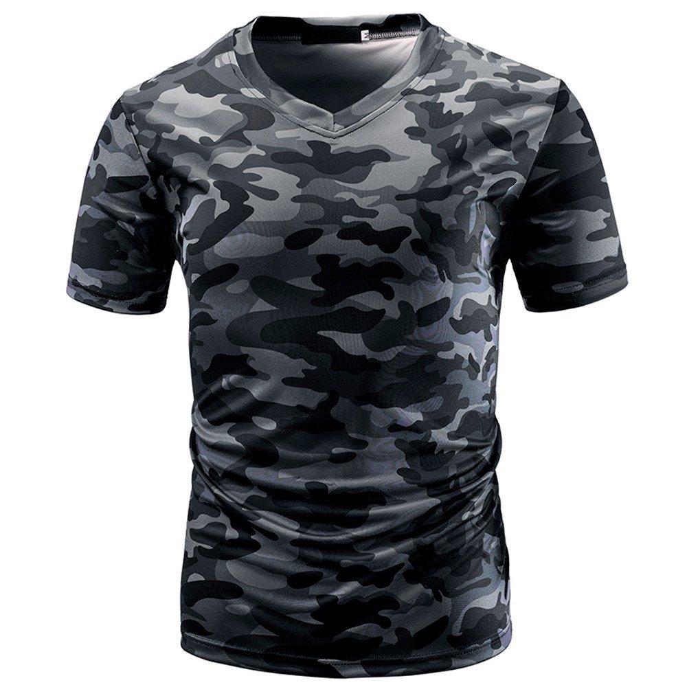 ZODOF Camisa Hombre, Camisetas Casuales de impresió n de Tallas Grandes Verano Camisetas Hombre Originales Algodó n Verano Manga Corta Casual Camisas