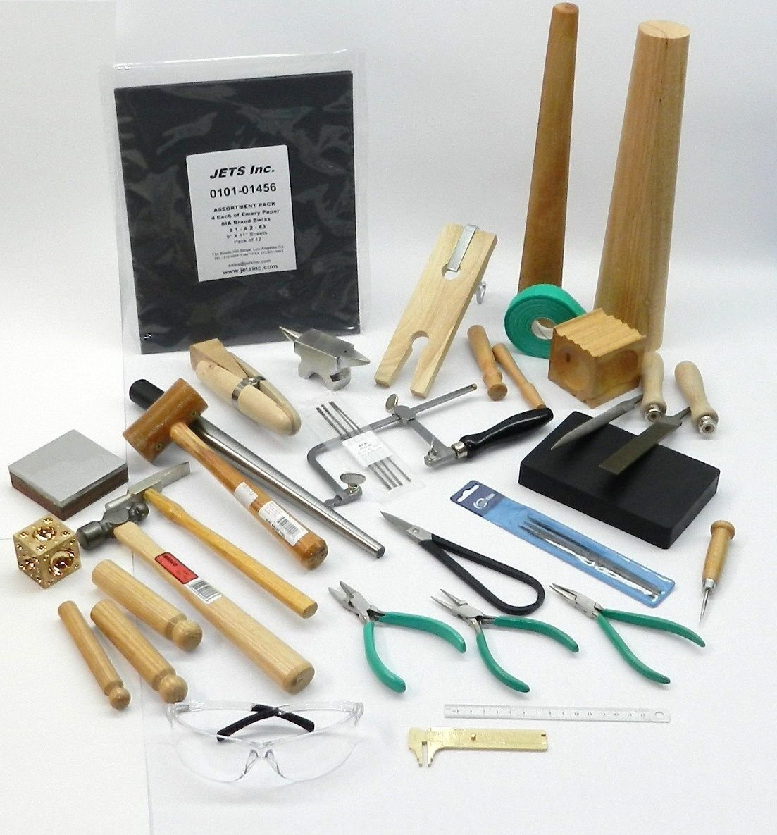 METALSMITH TOOLS KIT BEGINNERS -APPRENTICE METALSMITHING JEWELRY MAKING TOOL SET (LZ 13.10 LARGE BOX) by NOVEL (Image #5)