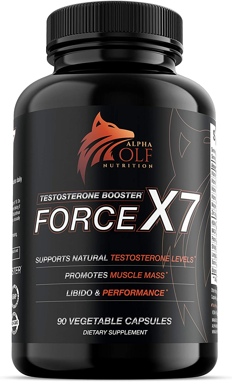 Force X7 - Natural Testosterone Booster for Men Libido Support Muscle eBay
