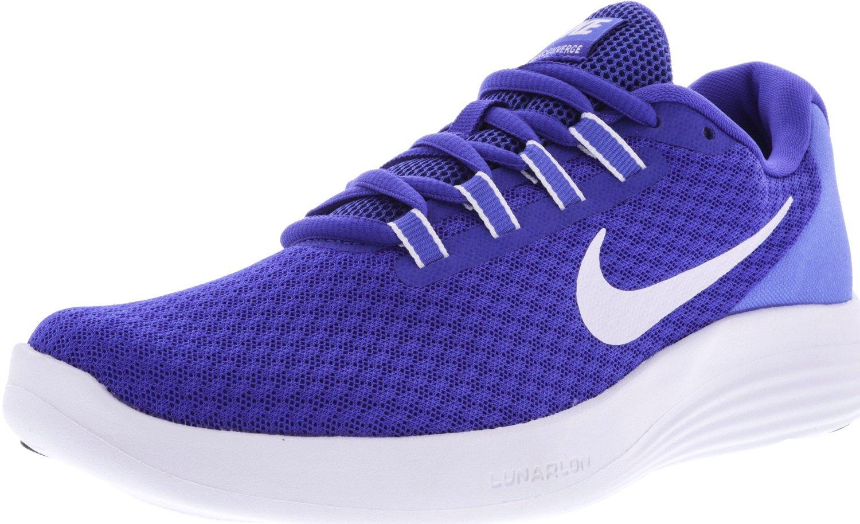 NIKE Womens Lunarconverge Lunarlon Fitness Running Shoes B0783717B7 8 M US|Paramount Blue/White