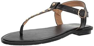 5001220f8 Jack Rogers Women s Kamri Dress Sandal Black 6.5 ...