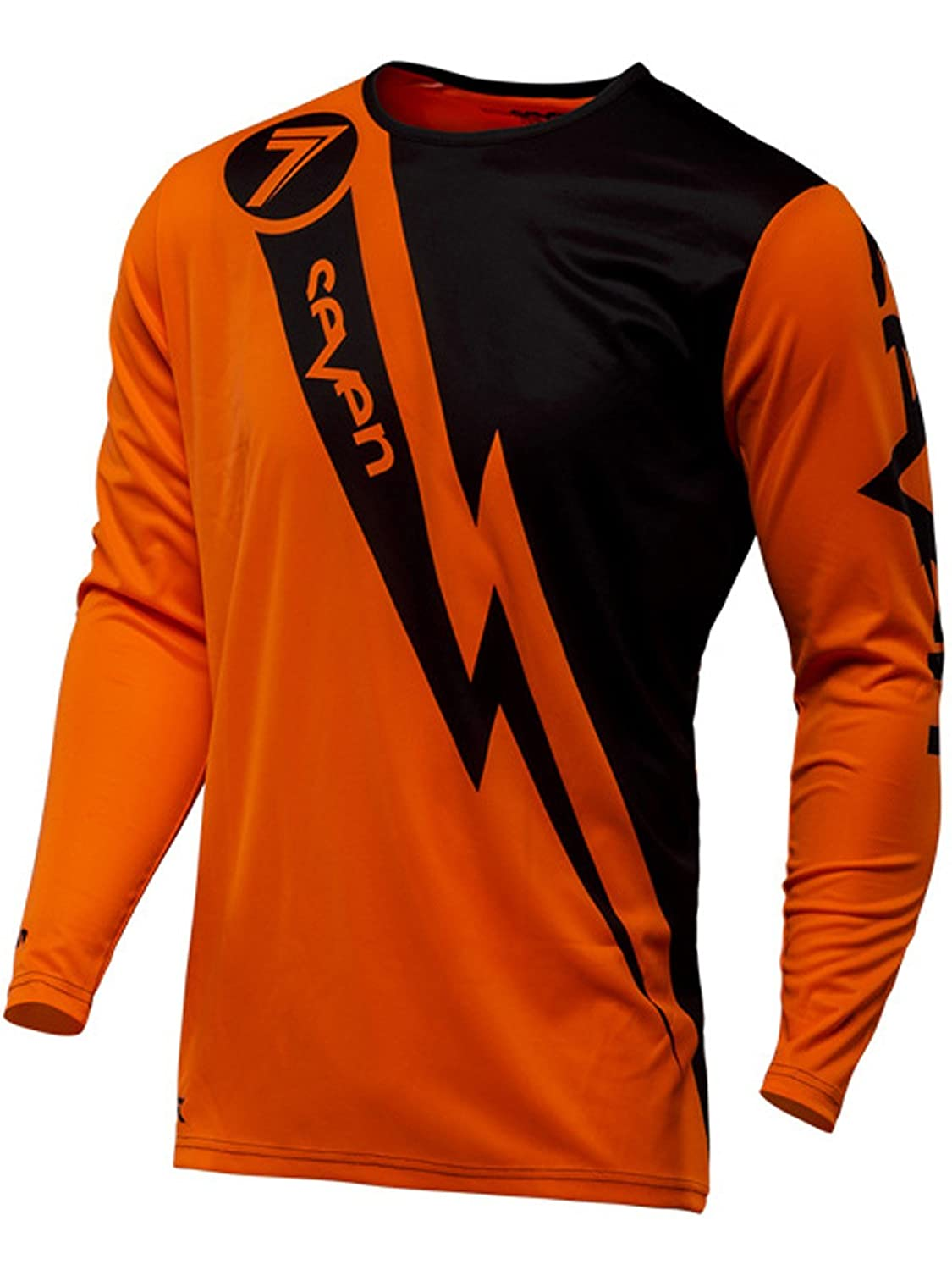 Seven Annex Volt Boys Off-Road Motorcycle Jersey Flow Orange//Small SE 2250012-801-YS