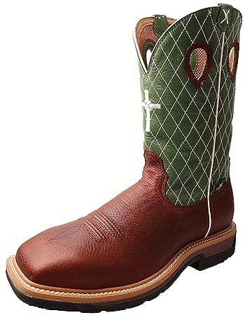 9be7b15e28b Twisted X Men's Lime Lite Western Work Boot Steel Toe