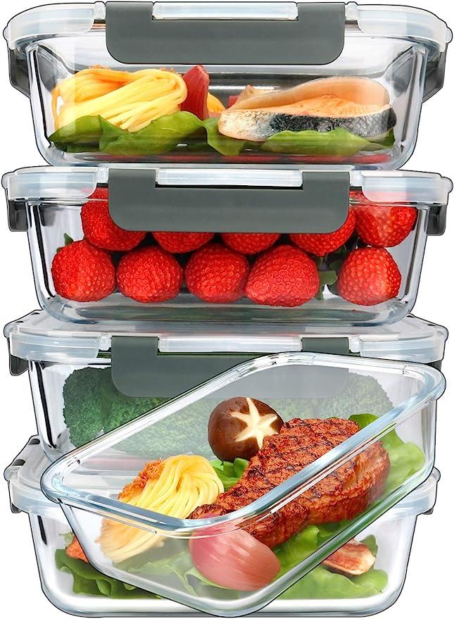 Glass Super Smoker Focus Luxury Red Storage container