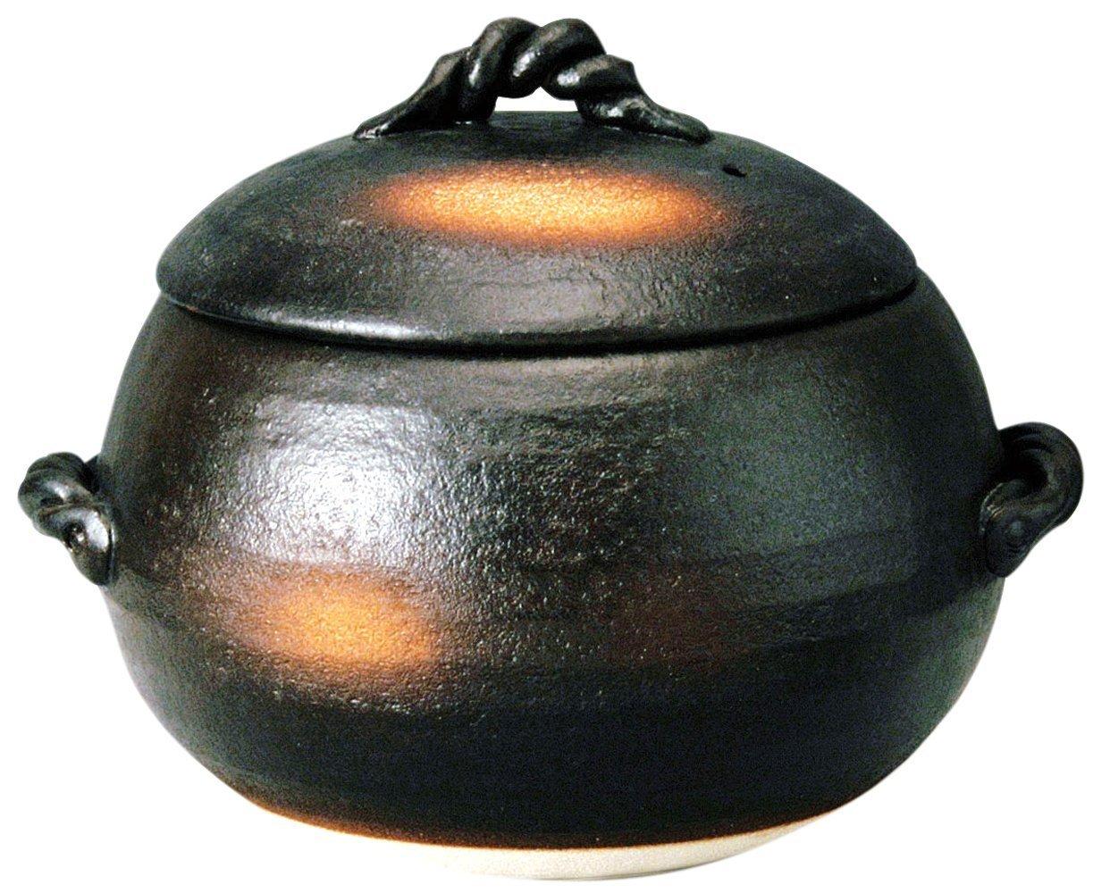 Rice Pot Yokkaichi Banko 5 Go (Round Type)