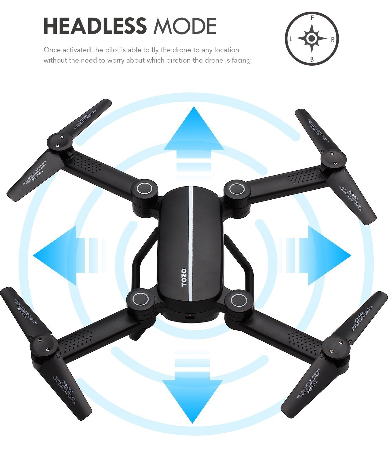 TOZO reg; Q1012 Drone Estándar Portátil FPV En Tiempo Real de La ...