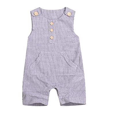 Infant Newborn Baby Boy Girl Clothes Cotton Bodysuit Romper Jumpsuit Sunsuit Outfits Clothing: Clothing