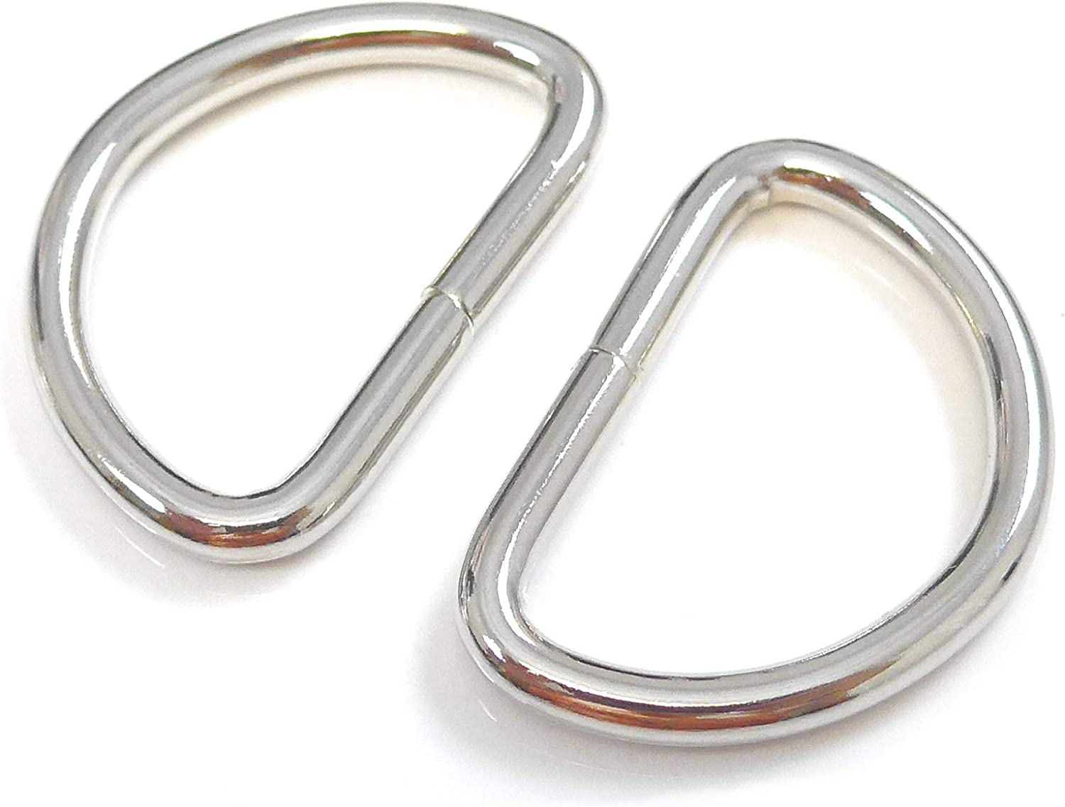 High Quality Welded Metal D Rings 25mm X 20