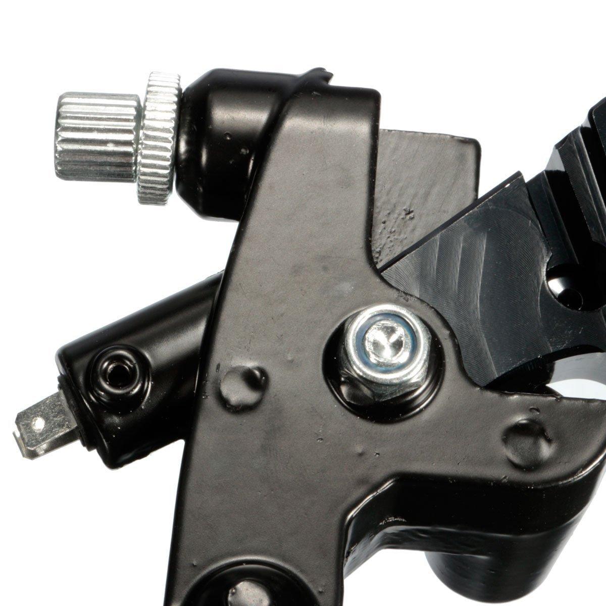 Universal Motorcycle Adjustment Front Brake Master Cylinder Clutch Lever For Sport Bike//Street Bike//Scooter red Dirt Bike With 7//8 22mm Standard Handle Bar.