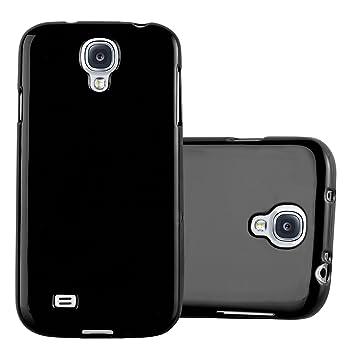 Cadorabo Funda para Samsung Galaxy S4 en Jelly Negro - Cubierta Proteccíon de Silicona TPU Delgada e Flexible con Antichoque - Gel Case Cover Carcasa ...