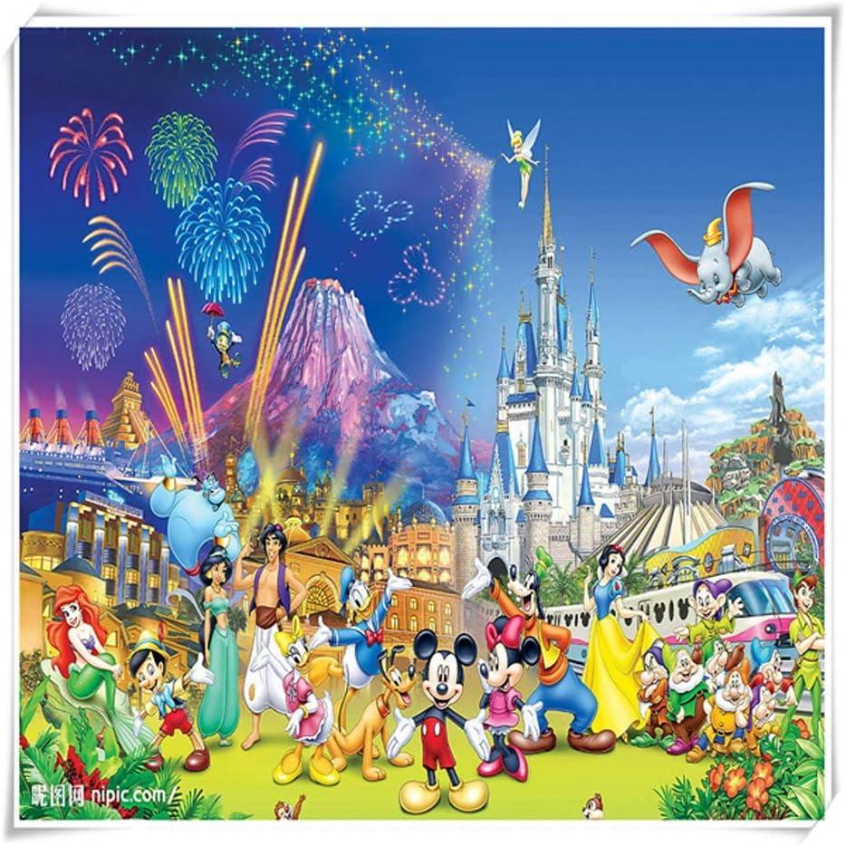 VAST Regalos Rompecabezas for los niños, clásico Animado de Dibujos Animados de Mickey Mouse Rompecabezas, DIY Creativo de Arte del Juego Regalo de la Pintura, Piezas 500/1000 529: Amazon.es: Juguetes y juegos