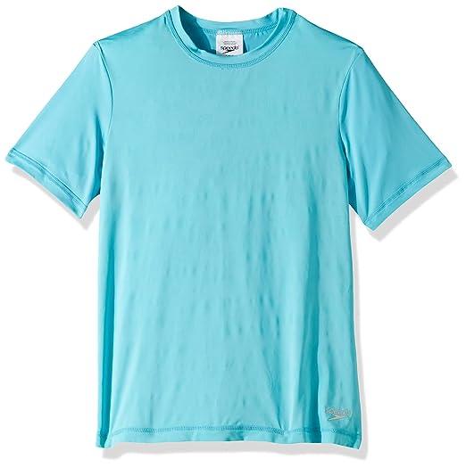 39287485a3 Amazon.com: Speedo Water Magic Print Reveal Rashguard: Clothing