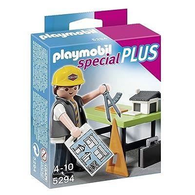 Playmobil Especiales Plus - Arquitecto con Mesa de Trabajo (5294): Juguetes y juegos