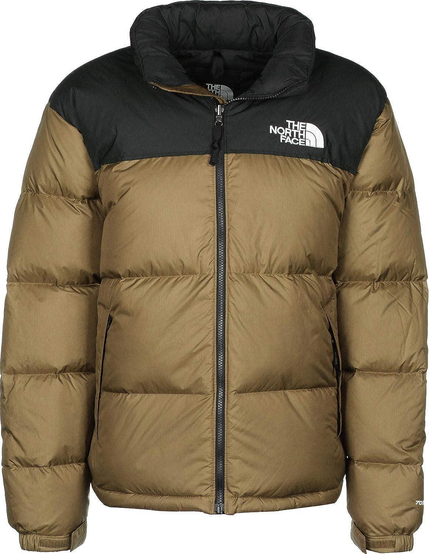The North Face de los Hombres 1996 Retro Nuptse Puffer Jacket, marrón
