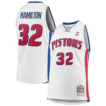 super popular d62bd da2e1 Amazon.com : Mitchell & Ness Richard Rip Hamilton Detroit ...