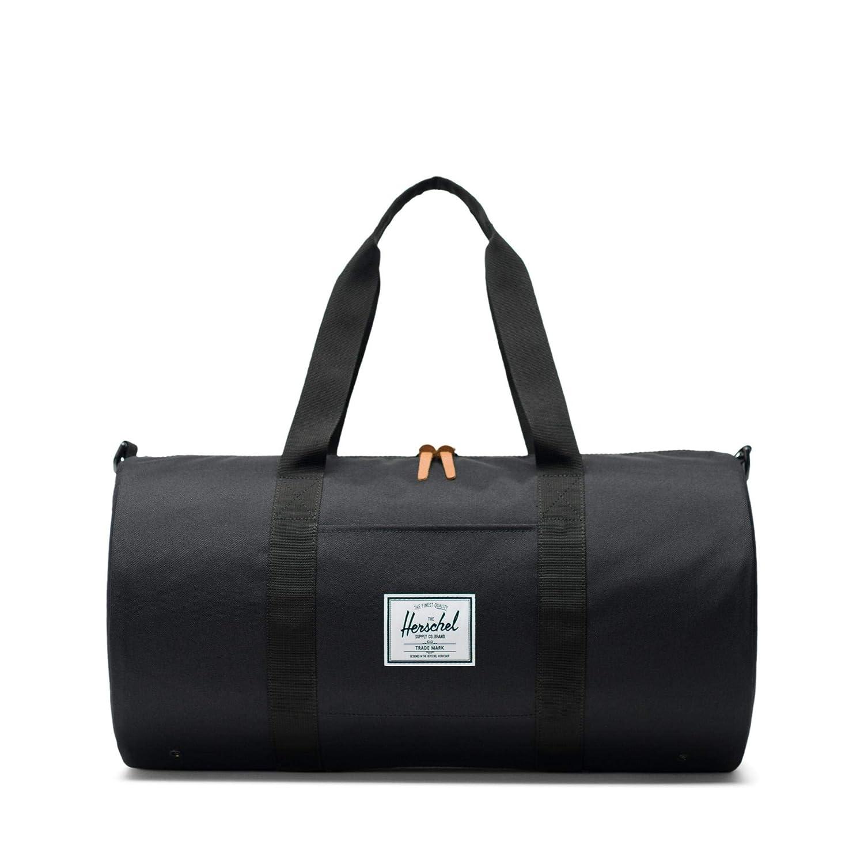 Herschel Supply Men s Sutton Unisex Black Duffle In Size One Size Black   Amazon.es  Deportes y aire libre d74976cd26458