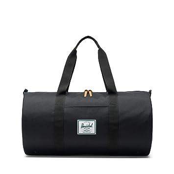 941883138388 Amazon.com   Herschel Sutton Mid-Volume Duffle Bag-Black   Travel Totes