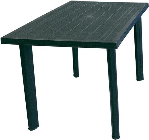Solider Jardín Mesa plástico mesa 125 x 75 cm camping mesa ...