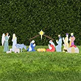 Outdoor Nativity Store Classic Outdoor Nativity Set - Full Scene