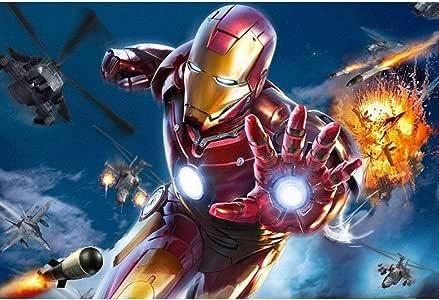 Assoluto Iron Man Avengers Rompecabezas, Regalo de cumpleaños ...