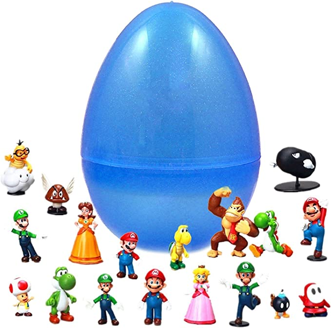 Amazon.com: Juego de 18 piezas de Super Mario Bros Super ...