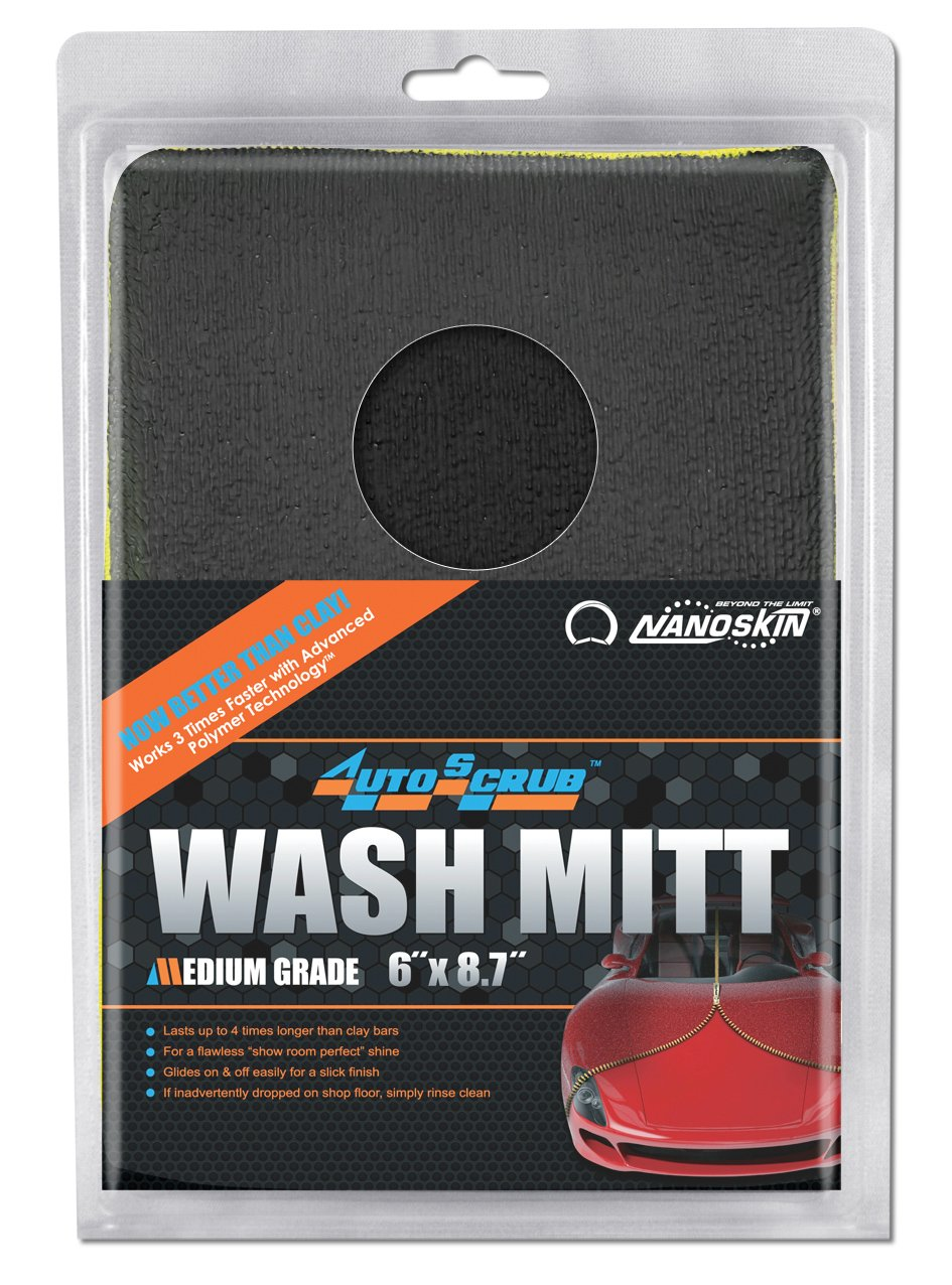 Nanoskin (AS-010) AutoScrub Medium Grade Wash Mitt