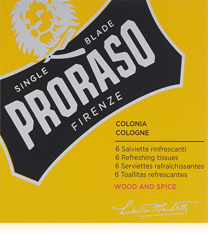 Proraso Refreshing Cologne 6 Piece Tissue Set