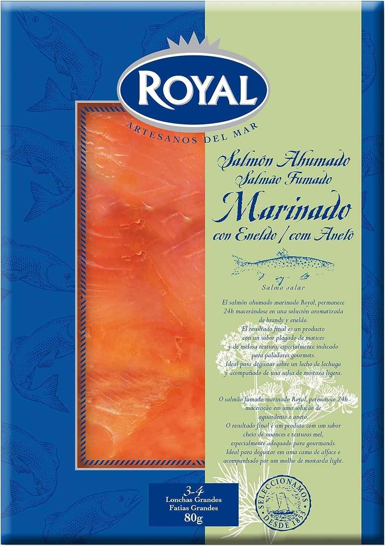 Royal Salmón Ahumado Marinado, 80g