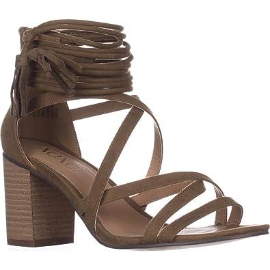 27f33274ce08 XOXO Womens Elle Fabric Open Toe Casual Strappy Sandals