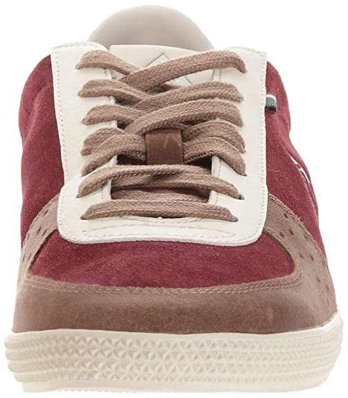 Le Coq Sportif Vecchio Suede, Baskets mode homme - Rouge (Retro Bordeaux/Gray Morn), 43 EU
