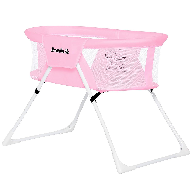 Dream On Me Mackenzie Bassinet, Pink