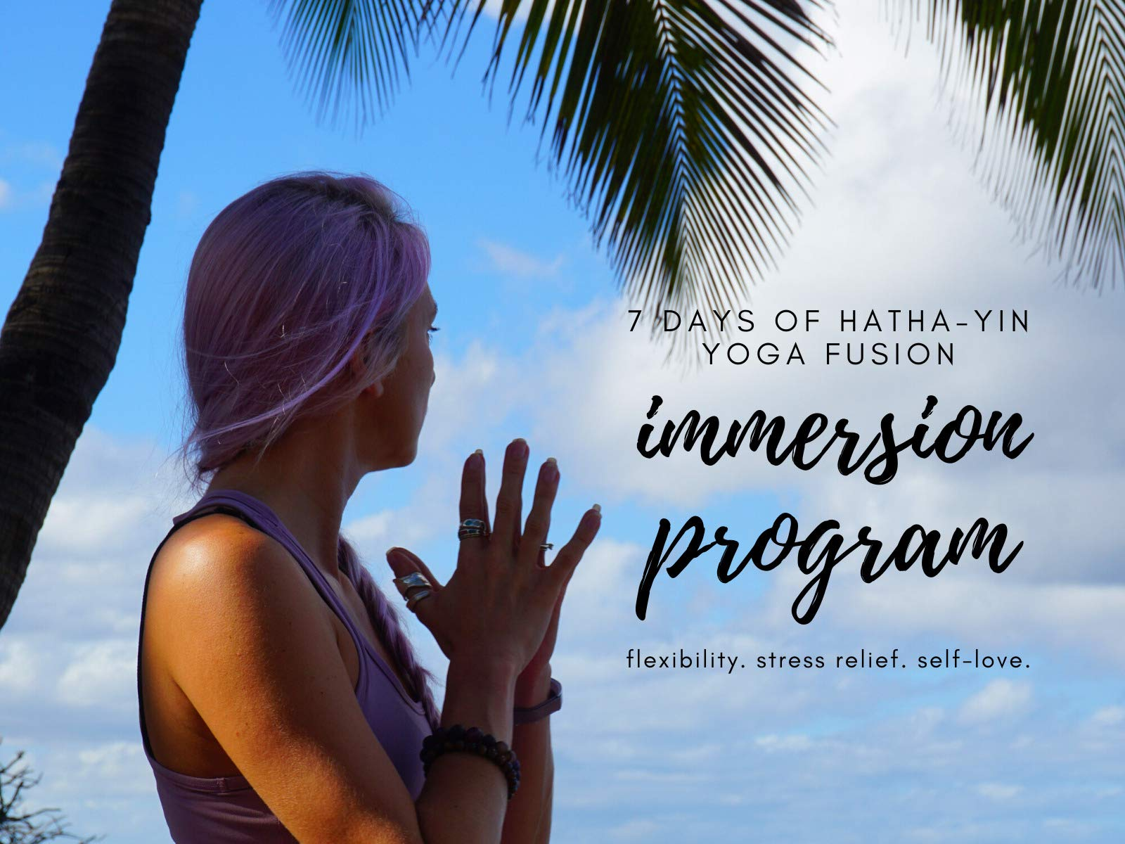 Amazon Com Watch 7 Days Of Hatha Yin Yoga Fusion For Flexibility Stress Relief Prime Video