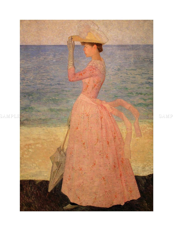 The Art Stop Femme A L OMBRELLE Aristide Joseph Bonaventure MAILLOL Framed Print F12X8467