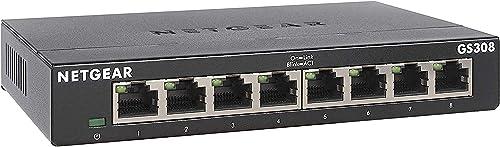 NETGEAR GS308-100 PAS Gigabit Switch