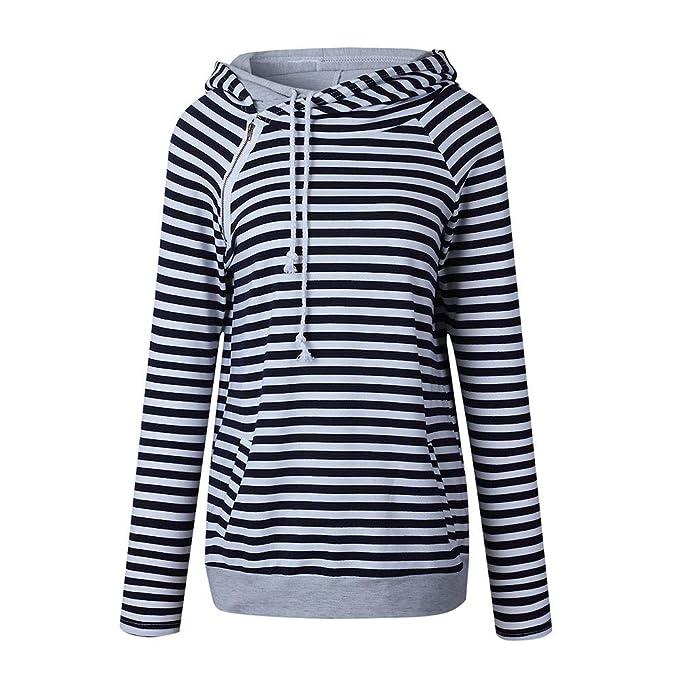 Sweatshirt Maniche Lunghe Felpa ASHOP Magliette Manica Lunga Donna Elegante  Maglie Donna Autunno Inverno 2018 2019 Nero Rosso Verde S-XXXL  Amazon.it   ... e9ecca1fe87
