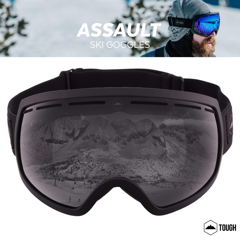 8c98f2a6410 Amazon.com   Ski   Snowboard Goggles - Dual-Layer Lens Snow Goggles for  Skiing