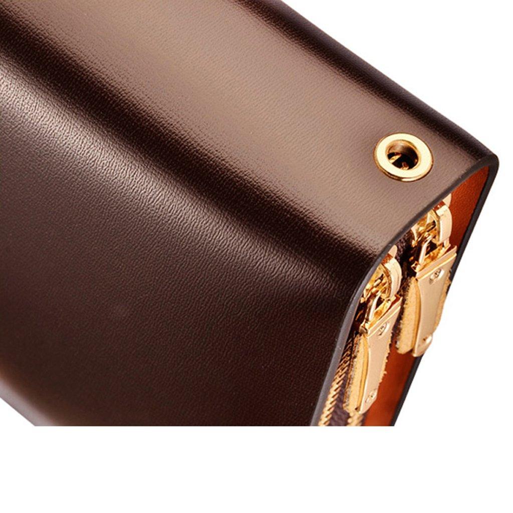 e62f4defbd Homme Teemzone pochette pour homme portefeuille homme sac avec étui à cartes  en cuir véritable noir marron porte ...
