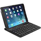 TeckNet BK661 Folio Protective Case with Integrated Wireless Bluetooth Keyboard, Auto Sleep / Wake & Adjustable Stand for iPad Mini 4 (US Keyboard Layout)