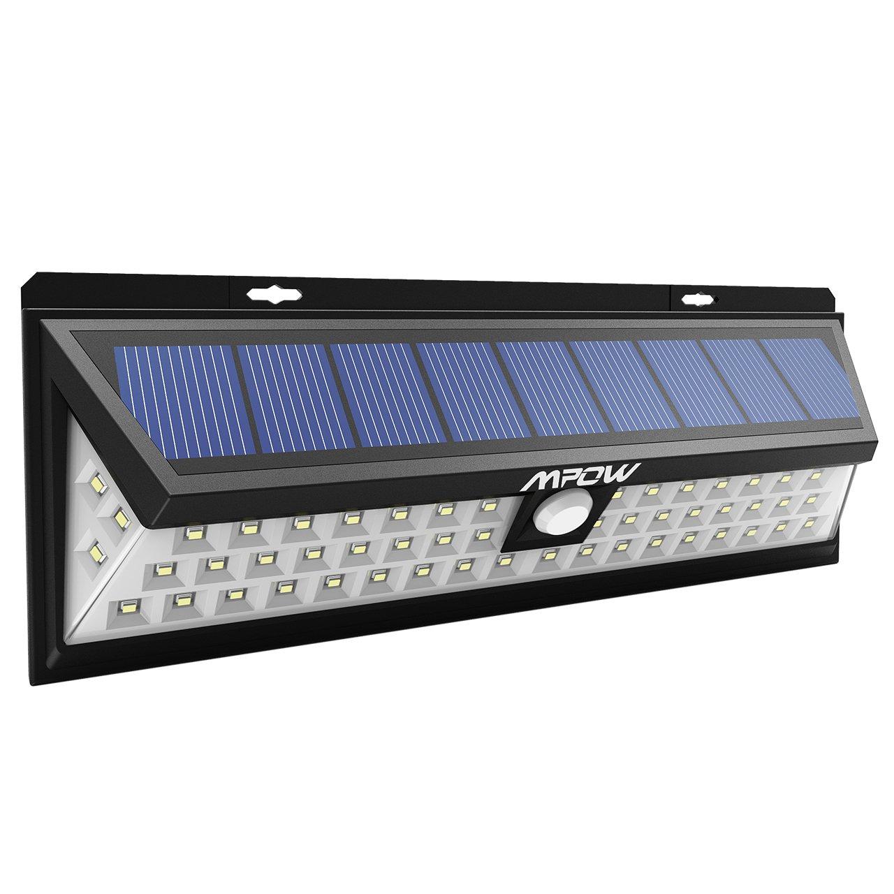 10 focos solares m s vendidos comparativa gu a de for Luz de led para exterior