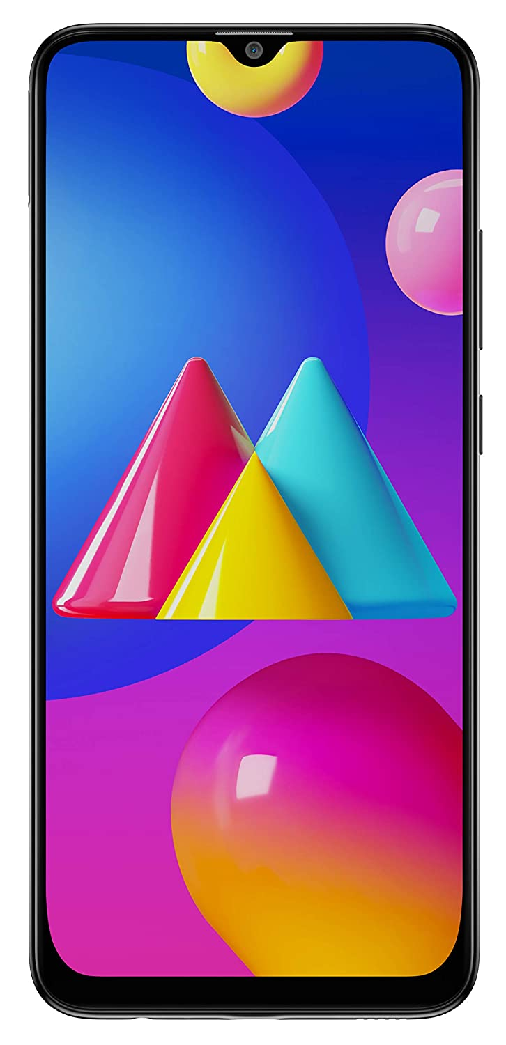 Samsung Galaxy M02s (Black,4GB RAM, 64GB Storage) | 5000 mAh | Triple Camera