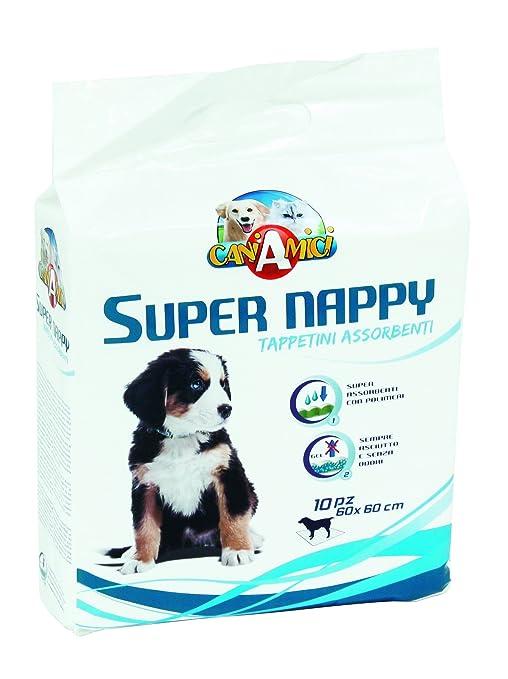 Croci perro absorbente Super pañales, 90 x 60 cm, pack de 10