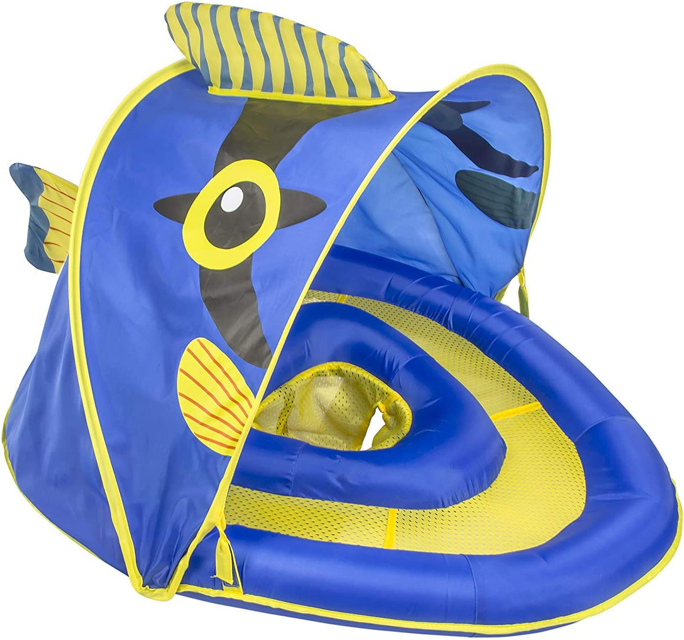 Amazon.com: SwimSchool Angel-The-Fish Flotador de tela para ...