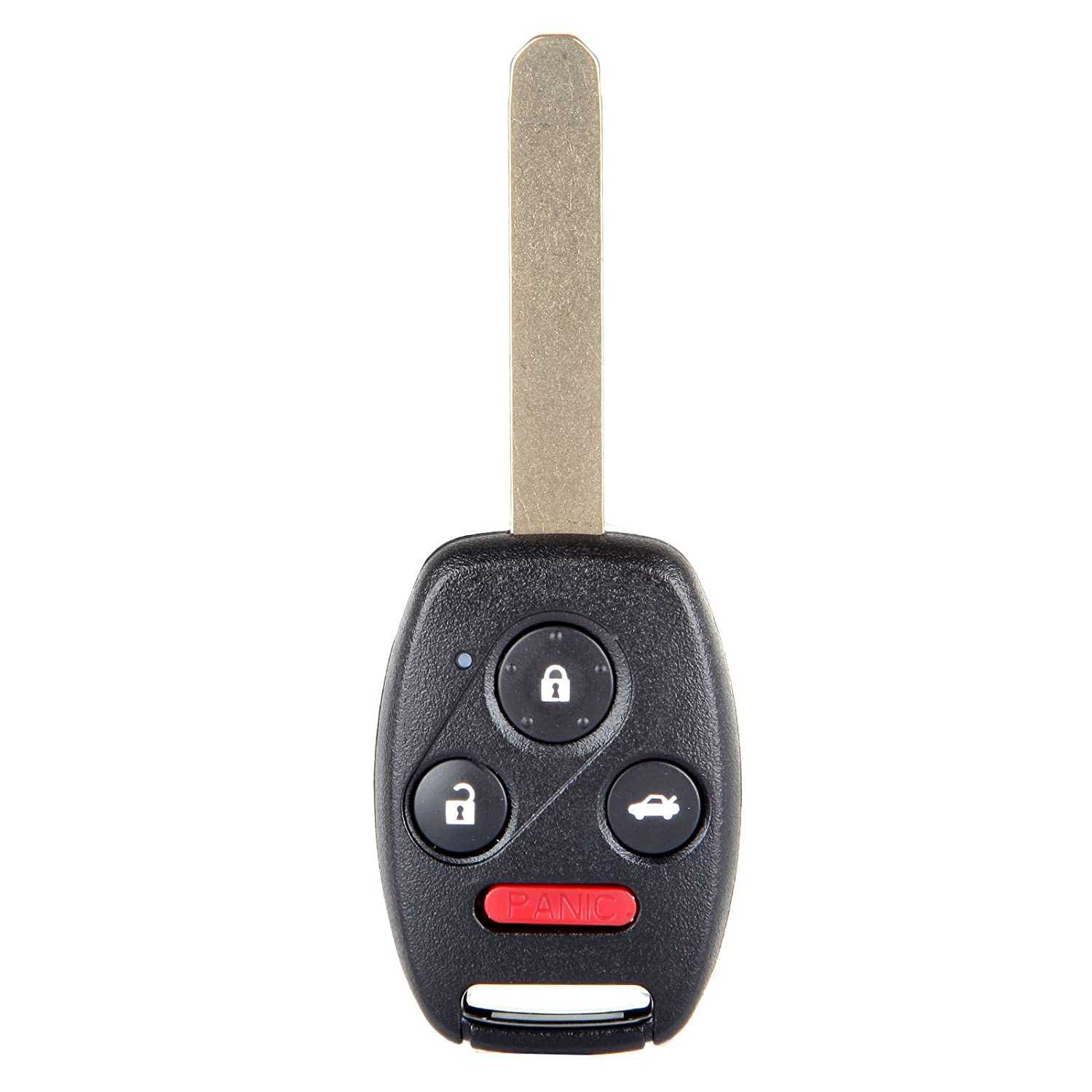 2x New Replacement Keyless Remote Key Fob For Honda Accord Pilot KR55WK49308