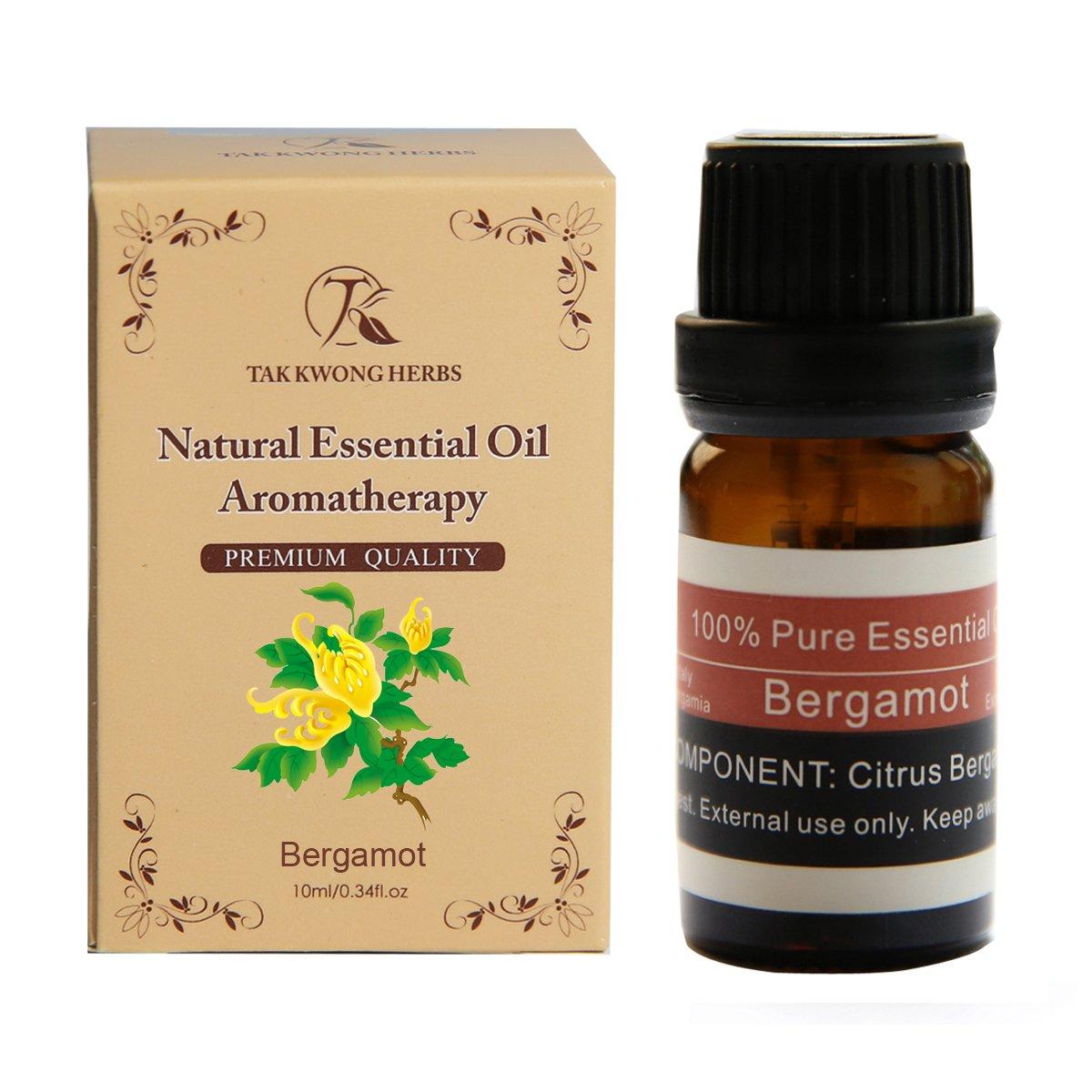 TKH - Aceite esencial 100 % puro extracto de bergamota natural 10 ml de aceite terapéutico para relajar/liberar la presión: Amazon.es: Industria, ...