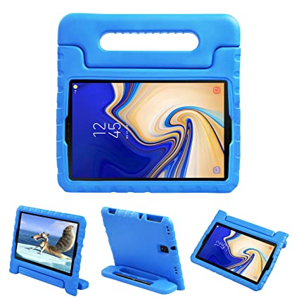 NEWSTYLE Kids Case for Samsung Galaxy Tab S4 10 5 2018 SM-T830/T835/T837 -  EVA Shockproof Convertible Handle Protective Light Weight Kids Cover for