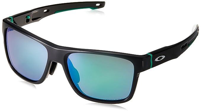 f9bbc1a2487 Oakley Men s Crossrange (a) Non-Polarized Iridium Square Sunglasses MATTE  BLACK INK 57.0