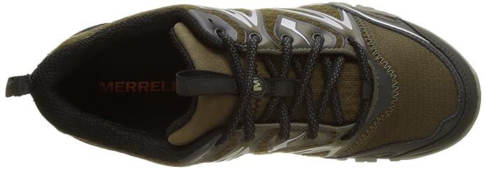 Amazon.com | Merrell Capra Bolt GTX Gore-Tex Waterproof All Terrain Mens Green | Shoes
